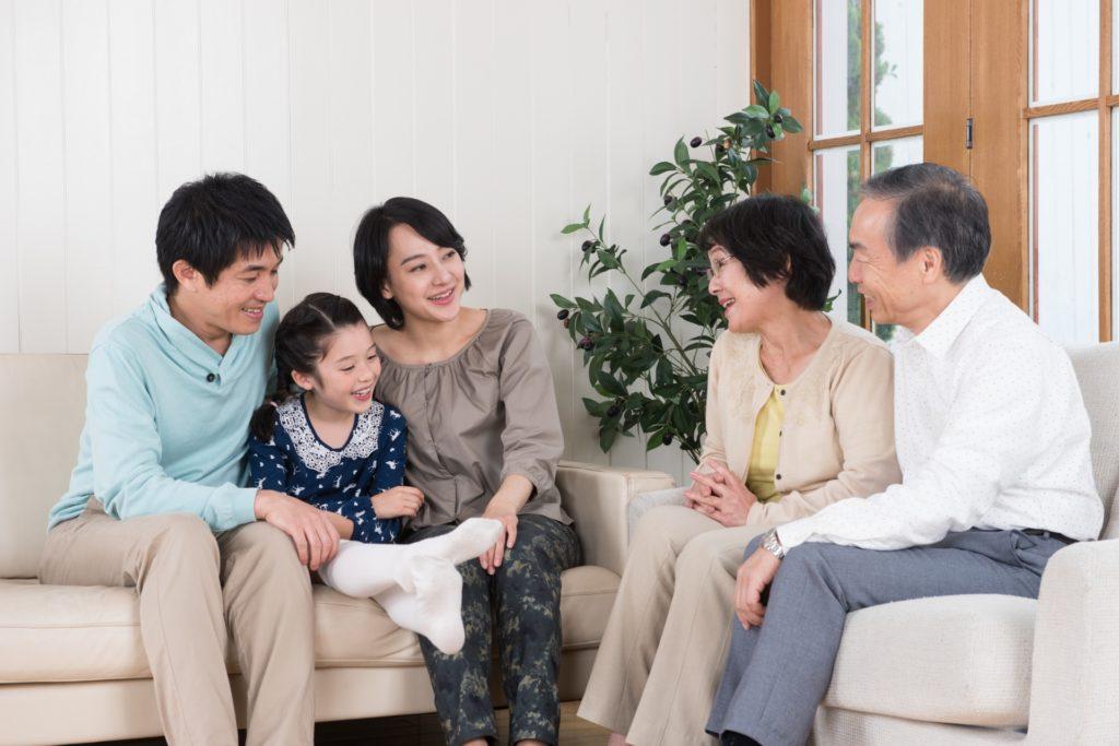 バリアフリー リフォーム 家族と笑顔