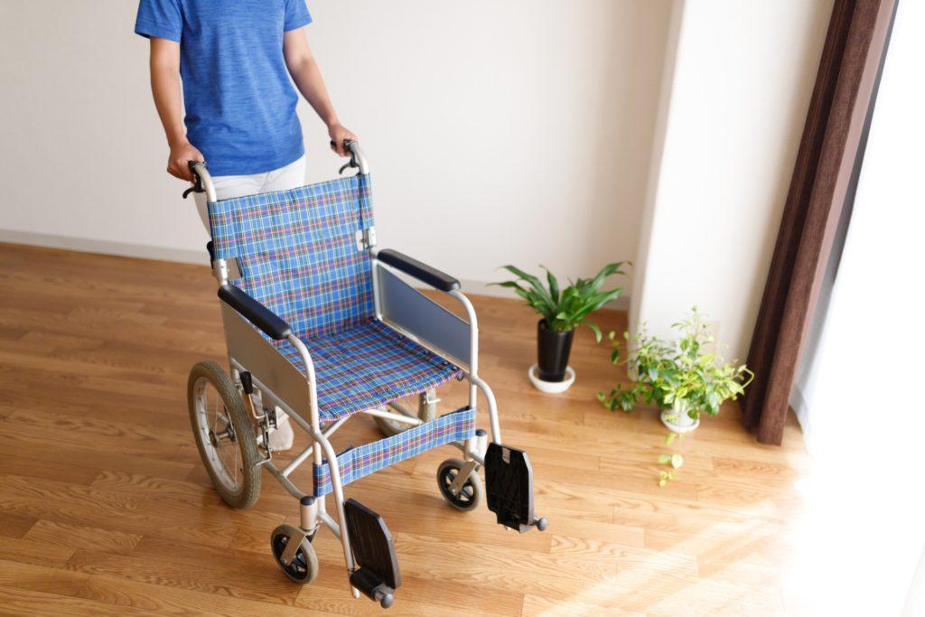 車椅子 出入り