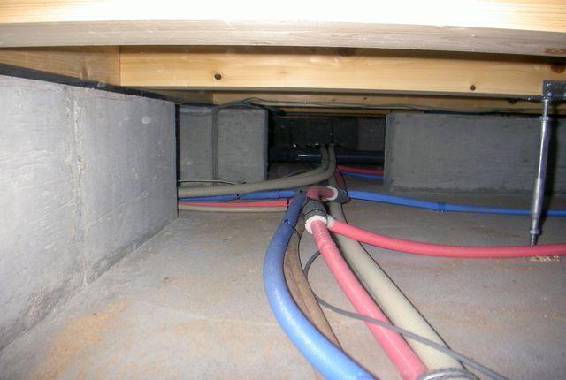 床下の点検