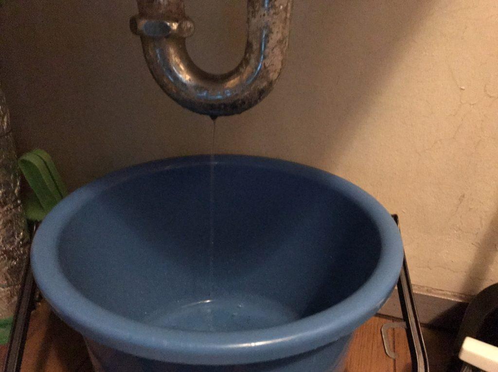 洗面台 水漏れ