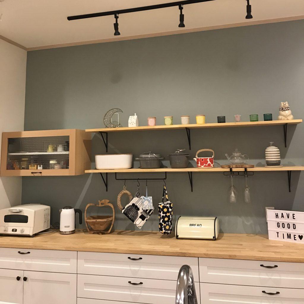 オリジナル キッチン収納