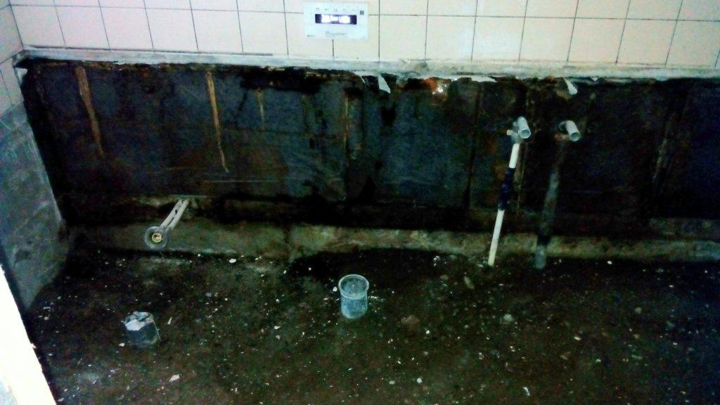 浴室 防水処理