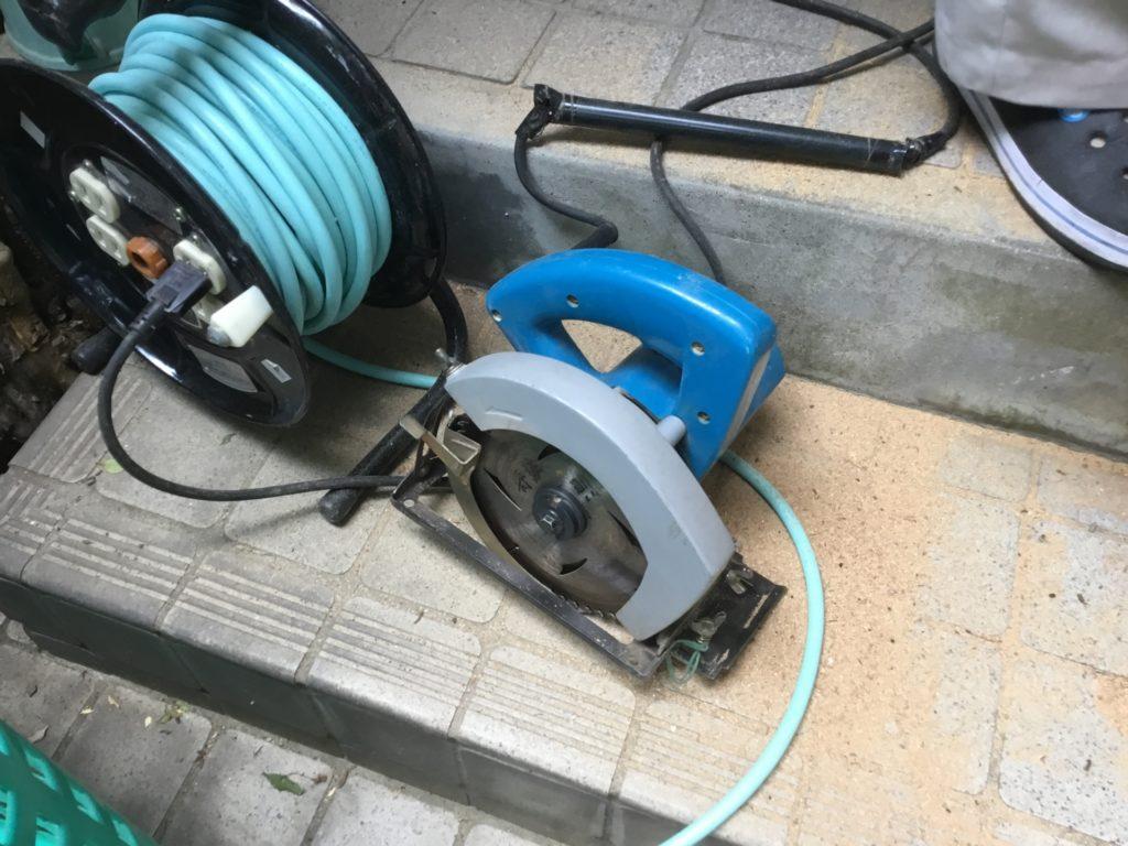 電動工具 音