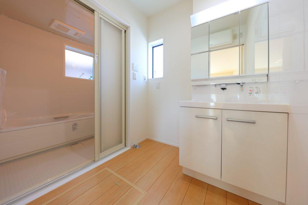 バリアフリー 浴室 3枚引き戸