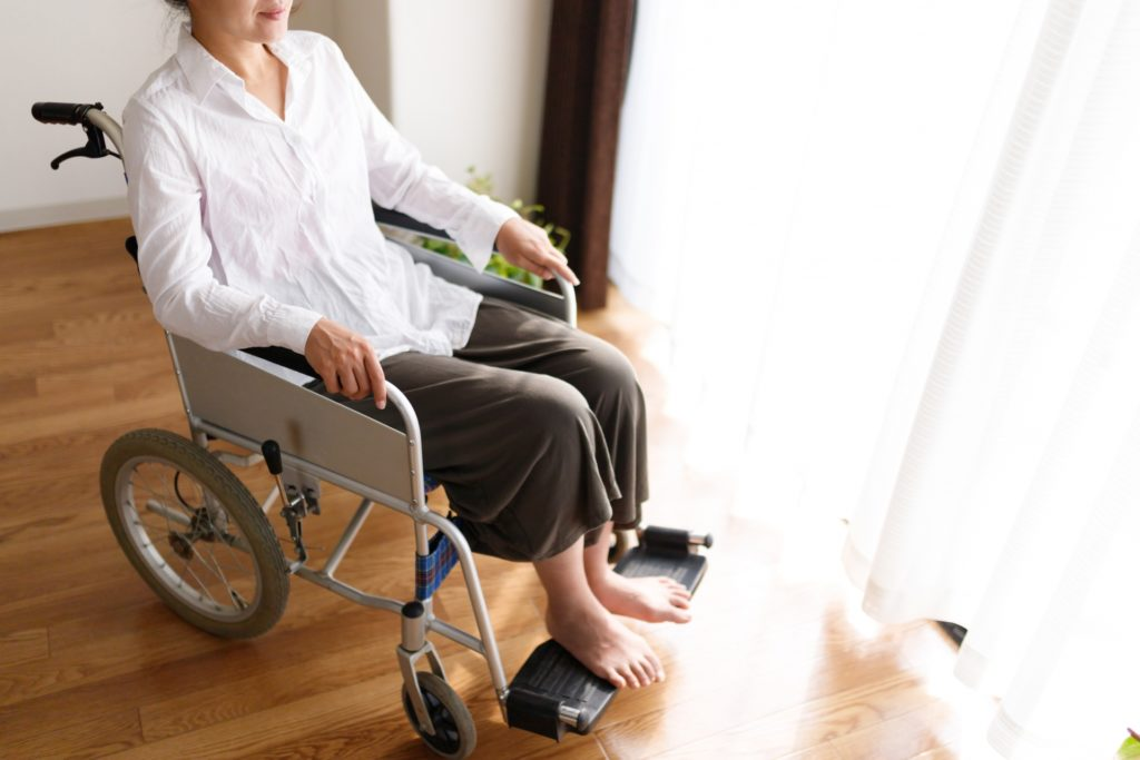 車椅子 スペース