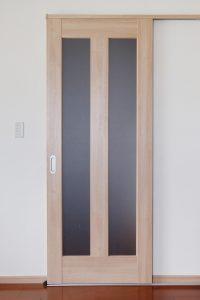 フラッシュ戸 框戸