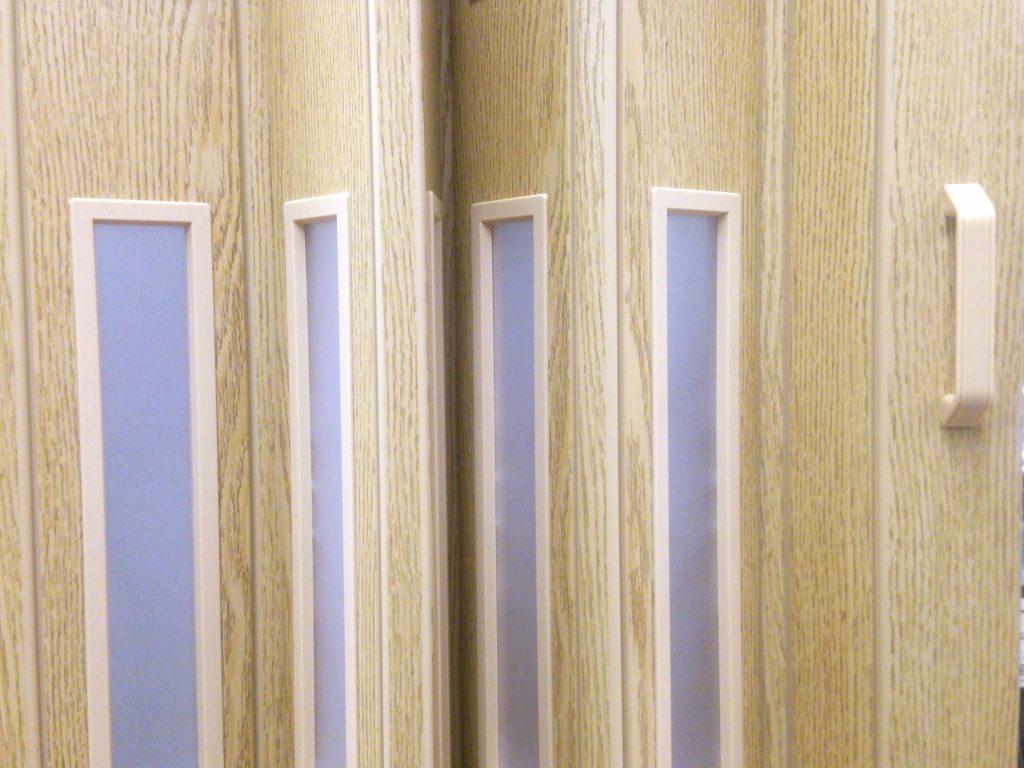 窓付き パネルドア