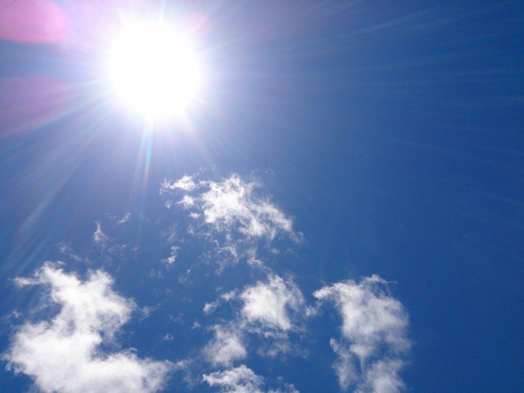 紫外線を抑える