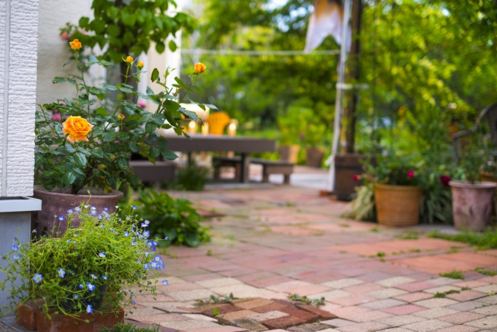 理想的な庭のリフォーム