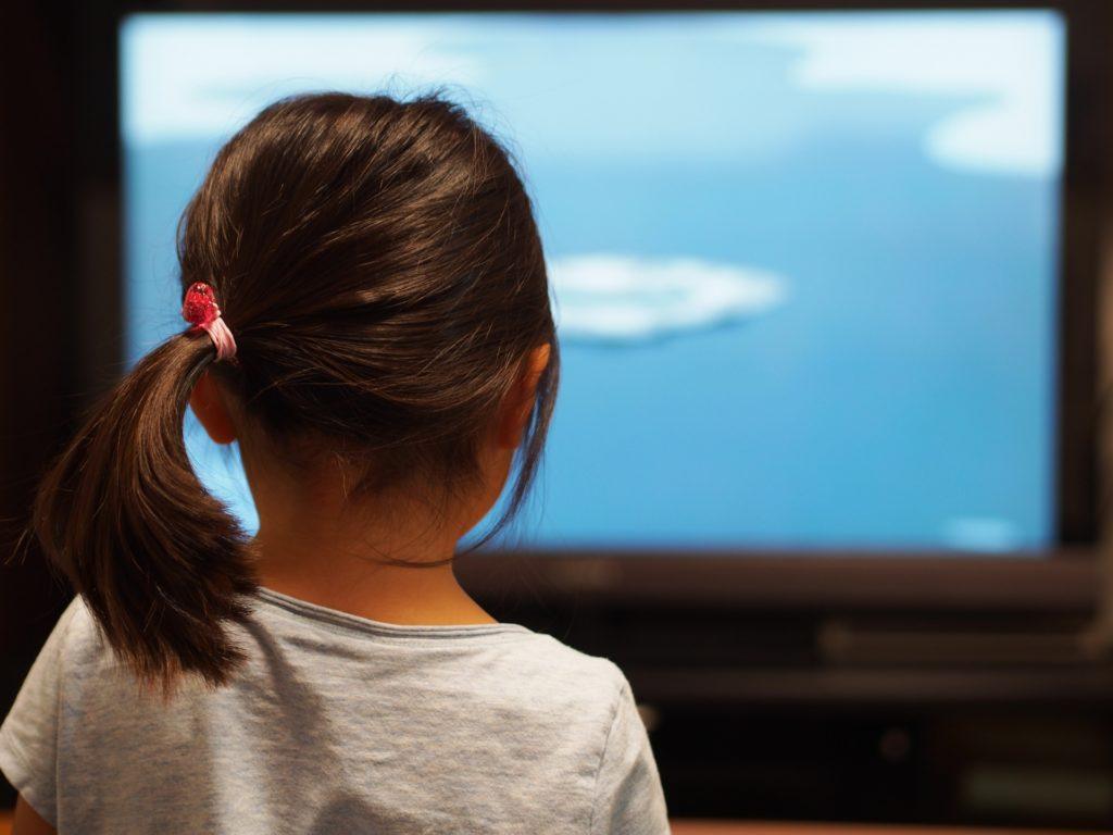 子供 テレビ鑑賞